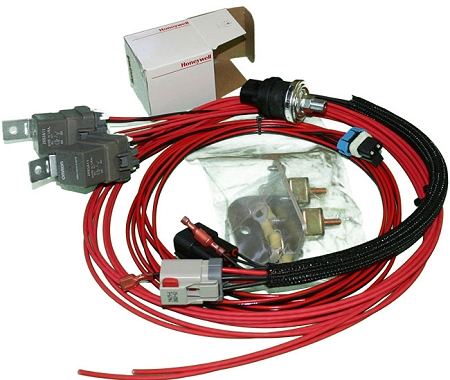 EVO 789 Dual Fuel Pump Wiring Harness - Fuel Pump Wiring Connectors