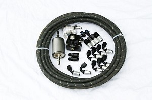 99-02 F-Body return-style plumbing kit using stock supply, -6 AN return